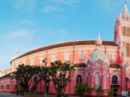 Tan Dinh Church – Saigon Archdiocese – Vietnam
